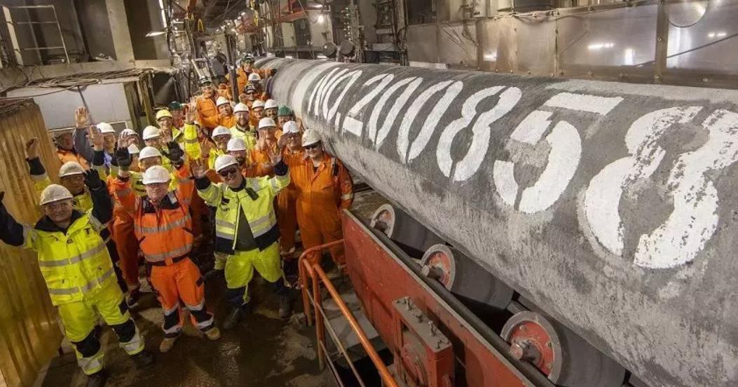 Газопровод Северный поток-2 построен!
