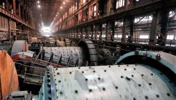 Михайловский ГОК ввел в опытно-промышленную эксплуатацию новую шаровую мельницу