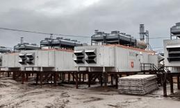 На Харасавэе установлено оборудование газоподготовки для энергоцентра собственных нужд