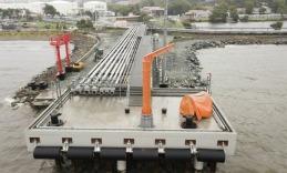 Во Владивостоке завершена реконструкция пирса нефтебазы